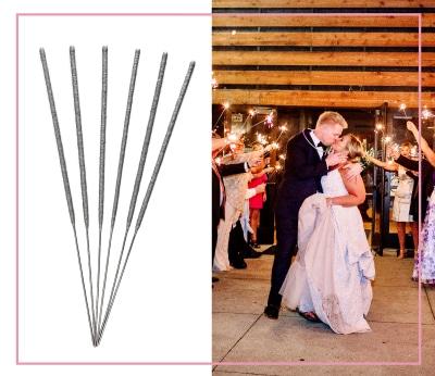 Wedding Celebration 10 inch Wedding Sparklers 10 Gold Marriage Direct Sparklers